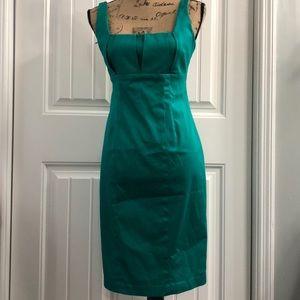 Calvin Klein green cotton dress size 4